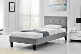fabric single bed frame u2014 derektime design creative ideas for