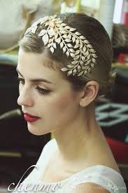 vintage headbands stunning leaf pattern gold bridal headpieces 2017 vintage