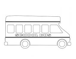 bus outline free stock photo public domain pictures