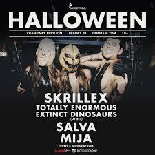 halloween dj set skrillex at craneway pavilion halloween 2014 line up tickets