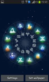 zodiac themes for android zodiac live wallpaper for android zodiac free download for tablet