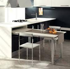 ilot de cuisine avec table amovible table de cuisine amovible support de table escamotable ilot de