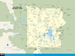 Map Of Utah Parks by Printable Travel Maps Of Wyoming Moon Travel Guides