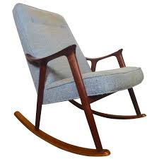 Rocking Chair Design Rocking Chair Mid Century Modern Sculpted Rocker By Ingmar Relling At 1stdibs