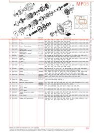 massey ferguson transmission u0026 pto page 245 sparex parts lists