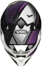purple motocross gear shoei vfx w sear off road mx dirt bike helmet dot snell m2015 ebay