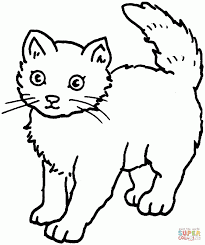 download cat coloring pages for kids ziho coloring