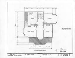 second empire floor plans second floor plan milton odell house concord carolina