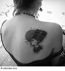 tattoo demon egyptian tattoos