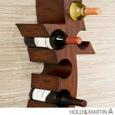 decor wall mounted wine rack for visible storage of your favorite