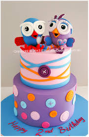 hoot and hootabelle kids birthday cake in sydney giggle and hoot