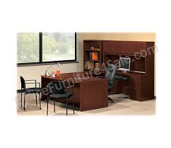 Basyx Office Furniture by Basyx By Hon Bl Outlet Series Laminate Desk Ensemble Rectangular