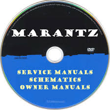 marantz hifi service manuals u0026 schematics pdfs on dvd huge