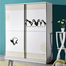 cartoon penguin kitchen fridge sticker wallpaper animal stickers
