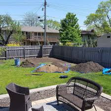 Small Family Garden Removing A Small Hill Is Not So Project The Best Garden Bed Edging