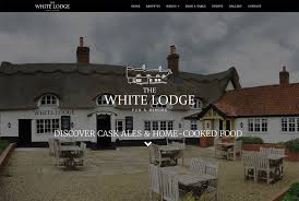 White Lodge Pub Website ⋆ Pollywiggle Web Design  Marketing