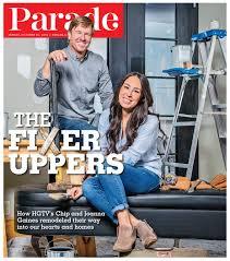 chip and joanna gaines u0027s parade magazine interview popsugar home