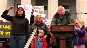 bernie sanders full speech at the women u0027s march in montpelier