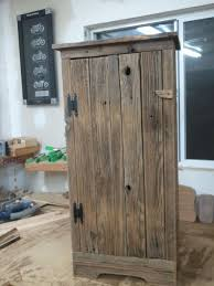 Barnwood Cabinet Doors by Handmade Aged Barnwood Jelly Storage Cabinet By Treehousewoodworks
