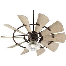 outdoor windmill ceiling fan 52 indoor outdoor rustic windmill ceiling fan shades of light