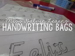 free cursive writing paper handwriting miss galvin learns slide1