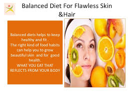 balanced diet for beautiful skin u0026 hair
