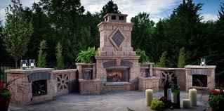 Outdoor Patio Fireplace Designs Popular Outdoor Patio Fireplace Designs To Add Door Corner