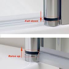 Bath Shower Screens Uk Glass Shower Screen Door Pivot Folding Glass Shower Doors Folding