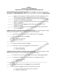 100 kailanan ng pangngalan worksheets for grade 6 shapes in