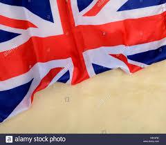 united kingdon union jack uk flag banner template stock photo