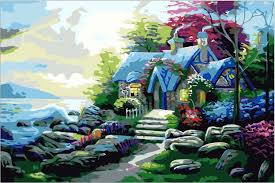 best painting the best pictures paint by numbers diy painting original digital