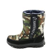 men boots outdoor warm men shoes winter boots snow platform