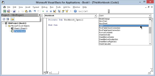 working with excel events programming excel with vba microsoft