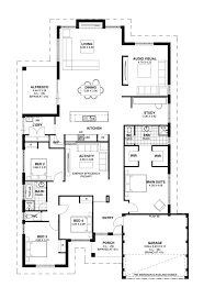 a house with 4 courtyards includes floor plans interior atrium