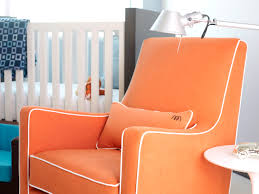 Rocking Chair Glider For Nursery by Luca Modern Glider Baby Nursery Furniture By Monte Design