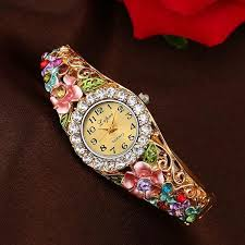 bracelet design watches images Luxurious women 39 s watch 12 different colors designs cyber jpg
