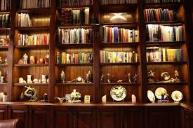 inspired led accent lighting bookcase and office lighting