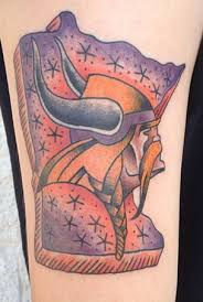 rockin tattoos mn vikings tattoo