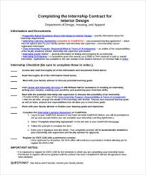 Interior Design Learning by Interior Design Contract Template 7 Download Free Documents In Pdf