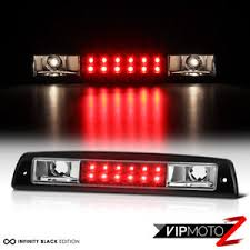 2001 dodge ram 1500 third brake light 1994 2001 dodge ram 1500 2500 3500 black led third brake stop light