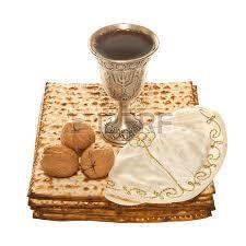 seder cup matzoth silver kiddush cup three walnuts and yarmulke for