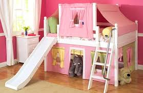 Bunk Bed With Slide Out Bed Bunk Beds With Pull Out Desk Slide Loft Bed Shabby Chic