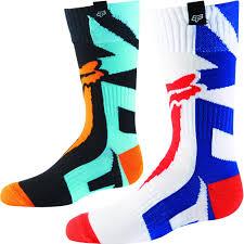 fox motocross stickers racing mx shiv youth motocross socks