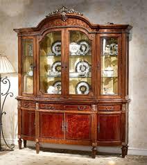 Ornate Display Cabinets Mahogany And More China Cabinets 4 Door Display China Cabinet Lv