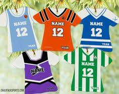 personalized ornaments for all sports football your