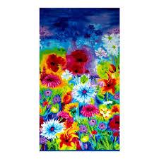 Orange And Blue Home Decor Home Decor Floral Border Fabric Com