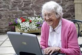 Computer Grandma Meme - create meme granny at the computer granny at the computer