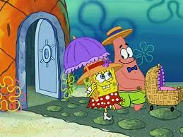 Patrick Moving Meme - rock a bye bivalve encyclopedia spongebobia fandom powered by
