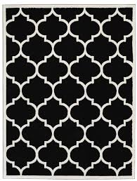 Black Throw Rugs Black And White Moroccan Tile Rug Light Grey Moroccan Bazaar