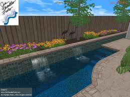 Deep Backyard Pool by Swimming Pool Design Big Ideas For Small Yards